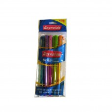 Reynolds Brite Trendz  Ball Pen Pck Of 5