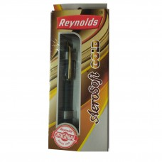 Reynolds Jetter Aero soft  Gold Ball Pen