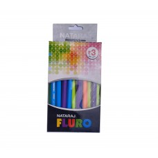Nataraj Fluro Ball Pen (20 Pcs )
