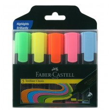 Faber Castell Textliner Assorted Set Of 5