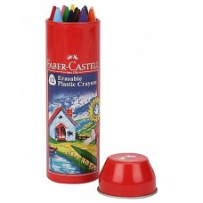 Faber Castell 12 Erasable Crayons 110mm