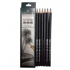 Faber Castell 6 Grade Pencil Pck of 6